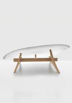 Diván de diseño original / de madera