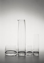Florero moderno / de cristal