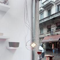 Lámpara suspendida / moderna / de hierro / de aluminio