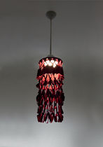 Lámpara suspendida / de diseño original / de tejido / de interior