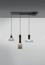 Lámpara suspendida / moderna / de metal / orientable