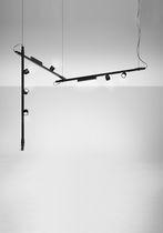 Iluminación sobre riel LED / fluorescente / redonda / lineal
