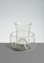 Florero moderno / de cristal de Murano