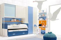 Habitación para niños para niño / azul
