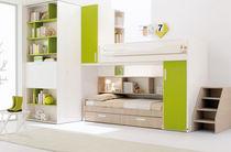 Habitación para niños unisex / verde