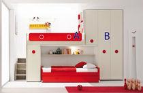 Habitación para niños unisex / blanca