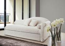 Sofá cama / clásico / de terciopelo / con cama nido