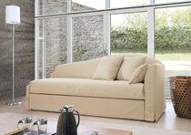 Sofá cama / clásico / de terciopelo / 2 plazas