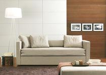 Sofá cama / moderno / de terciopelo / 3 plazas