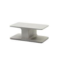 Mesa de centro moderna / de cemento / rectangular / para exterior