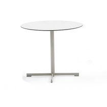 Base de mesa de acero inoxidable / moderna / profesional
