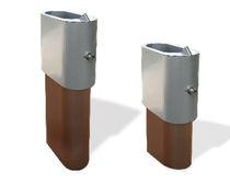 Fuente para beber de exterior / de acero
