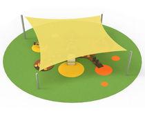 Tensoestructura de lona / para espacio público / para lugar público / para parque infantil