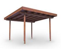 Pérgola autoportante / de madera / para uso profesional