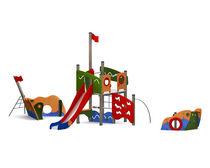 Estación de juego de PEAD / de acero / para parque infantil
