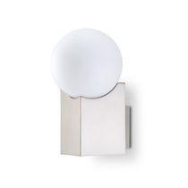 Aplique de diseño original / de vidrio / de acero / LED