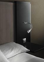 Aplique moderno / de aluminio / LED / orientable