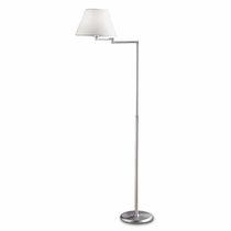 Lámpara de pie / moderna / de tejido / de latón