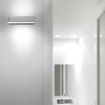 Iluminación de emergencia mural / rectangular / fluorescente compacta / LED