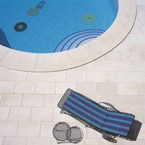 Baldosa para playa de piscina / de suelo / de arenisca / de piedra calcárea