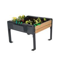 Jardinera para huerto de madera / para espacio público