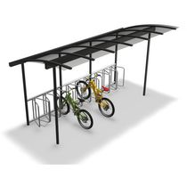 Marquesina para bicicletas