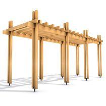 Pérgola de madera / profesional