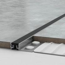 Junta de dilatación aluminio / para calle / de suelo / de fachada