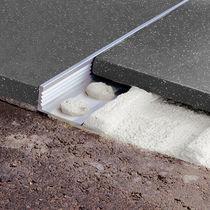 Perfil de acabado de aluminio / para ángulo exterior