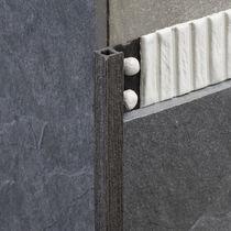 Perfil de acabado de PVC / para ángulo exterior