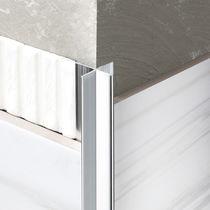 Perfil de acabado de aluminio / para ángulo exterior / para fachada / para tabique
