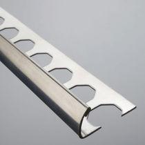 Perfil de acabado de acero inoxidable / para baldosas / para ángulo exterior
