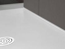 Perfil de acabado de aluminio / para baldosas / para ángulo interior