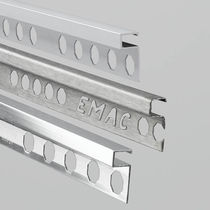 Perfil de acabado de aluminio / para baldosas
