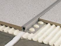 Junta de dilatación de PVC / para forjado