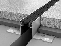 Junta de dilatación de aluminio / para forjado