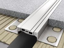 Junta de dilatación de aluminio / para muro
