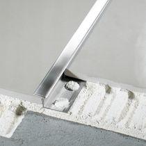 Perfil de separación de aluminio / de latón / de acero inoxidable / para ángulo exterior