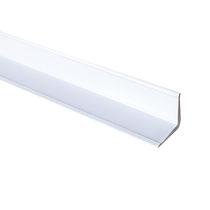 Perfil de acabado de PVC / para ángulo interior