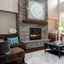 Fachaleta de piedra / interior / texturada / decorativa