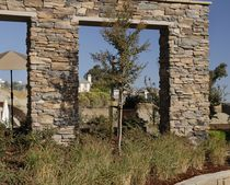 Fachaleta de piedras / de exterior / texturada / decorativa