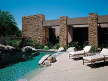 Fachaleta de piedras / de exterior / interior