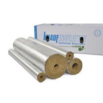 Aislante térmico / de fibra de vidrio / de lana mineral / para canalizaciones