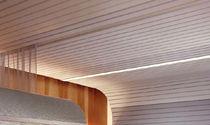 Falso techo de metal / tipo panel