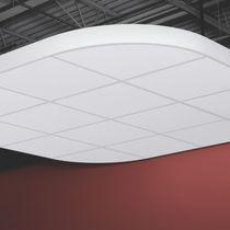 Panel decorativo liso / acústico / de absorción