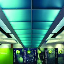 Panel translúcido / decorativo / de policarbonato / para falso techo
