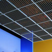 Falso techo de metal / tipo panel / enrejado