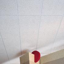 Falso techo de fibra de vidrio / tipo panel / acústico