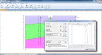 Programa de cálculos de cimientos especiales / para estructura de acero
