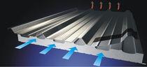 Aislante térmico / de poliéster / para techado / tipo panel rígido